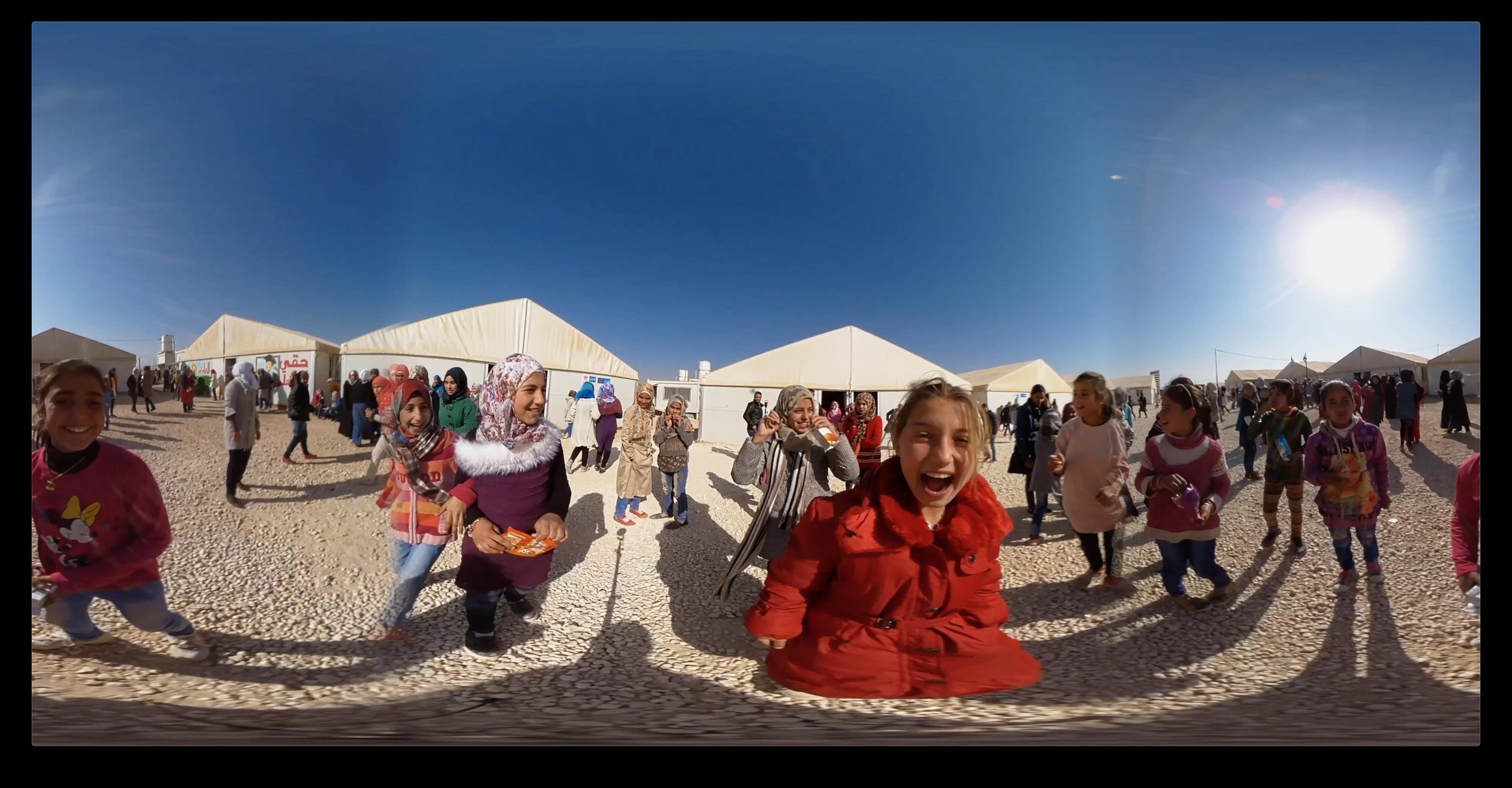 360 Photo Refugee Children